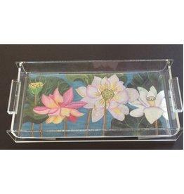 """Kreative Acrylic Acrylic  Vanity Tray<br /> 9"""" x 4"""""""