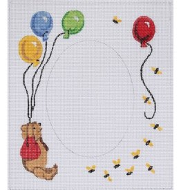 """Kate Dickerson Pooh Picture Frame<br /> 6 1/4"""" x 7 1/4"""""""