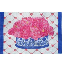 "Lycette Peonies<br /> 12"" x 8.25"""
