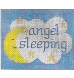 "Stitch-It Angel Sleeping<br /> 4 1/2"" x 5 1/2"""