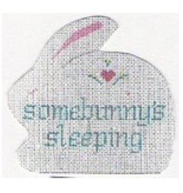 """Stitch-It Somebunny's Sleeping<br /> 4 1/2"""" x 4 1/2"""""""