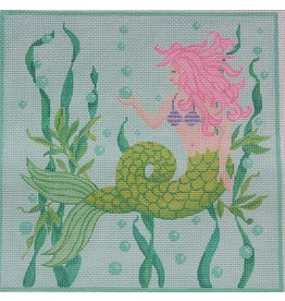 "Kate Dickerson Under the Sea Mermaid <br /> 9.25"" x 9.5"""