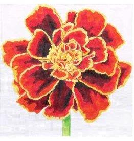 """Jean Smith Designs Mahogany Marigold<br /> 8"""" x 8"""""""