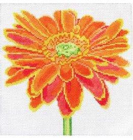 """Jean Smith Designs Orange Daisy<br /> 8"""" x 8"""""""
