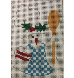 The Princess &amp; Me Cookin for Christmas - ornament <br /> w/stitch guide