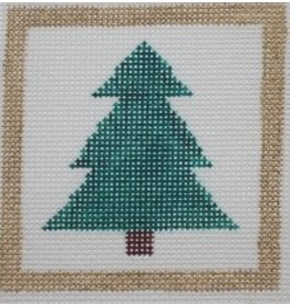 "Little Bird Designs Christmas Tree ornament<br /> 3"" x 3"""