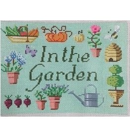 "Kirk &amp; Hamilton In The Garden - Sign<br /> 5"" x 7"""