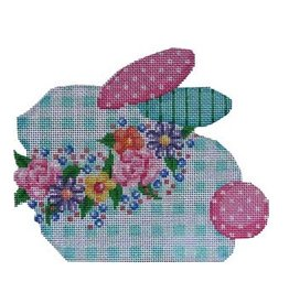 "Associated Talent Bontanical Bunny<br /> 6.5"" x 5.5"""