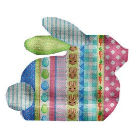 "Associated Talent Vertical Pattern Bunny<br /> 6.5"" x 5.5"""