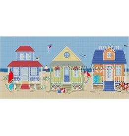 "Susan Roberts Beach Houses<br /> 15.5"" x 5.5"""