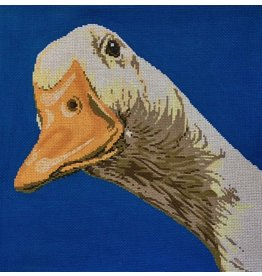 "Meredith Duck<br /> 13"" x 13"""