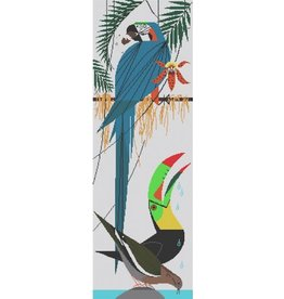 "Meredith Charley Harper's Paradise Pals<br /> 7.5"" x 23"""