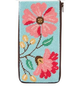 Alice Peterson Pink Flowers Eyeglass Case - Kits