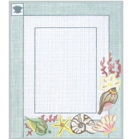 """Julie Mar Sea Beauties Picture Frame<br /> 5"""" x 7"""" picture opening"""