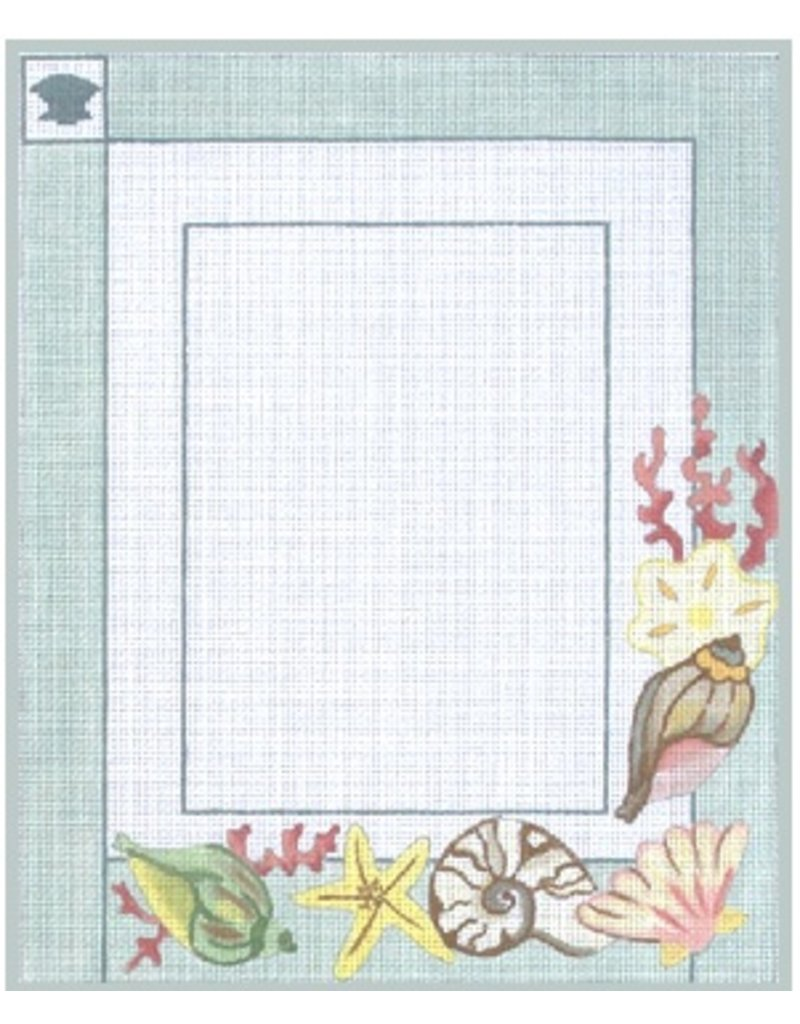 "Julie Mar Sea Beauties Picture Frame<br /> 5"" x 7"" picture opening"