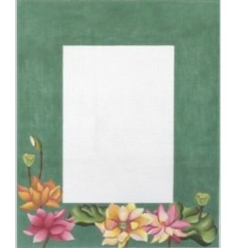 "Julie Mar Lotus Garden Picture Frame<br /> 5"" x 7"" photo opening"