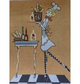Little Shoppe Canvas Julia Child (bread)