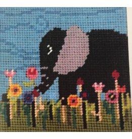 """Fleur de Paris Elephant (kid's kit)<br /> 9"""" x 9"""""""