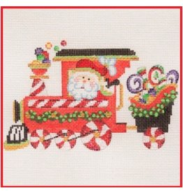 "Strictly Christmas Train Engine w/Santa<br /> 6"" x 3.75"""