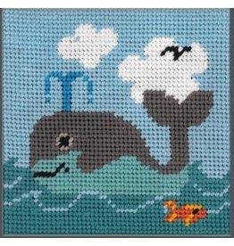 """Fleur de Paris Whale (kid's kit)<br /> 9"""" x 9"""""""