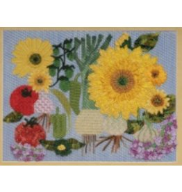 BB Needlepoint Design Sunflower & Leeks