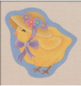 "Pepperberry Design Bonnet Chick 4.75"" x 4.25"""