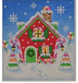 "Pepperberry Design Holiday House<br /> 5.5"" x 6"""