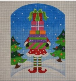"Pepperberry Design North Pole Elf<br /> 6"" x 8"""