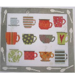 "Pippin Studio 12 Cups for Slurping<br /> 11"" x 10"""