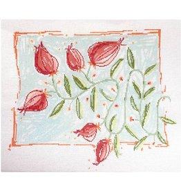 """Pippin Studio Vine Flower<br /> 17"""" x 14"""""""