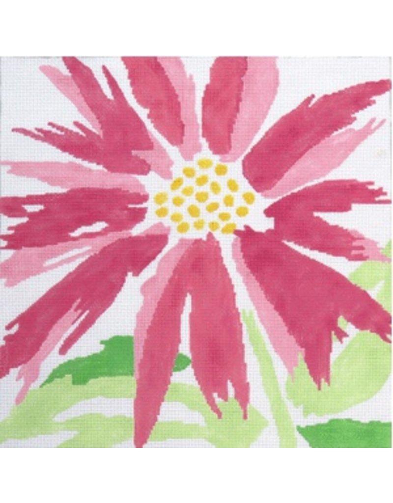 """Jean Smith Designs Splash Flower - Pink<br /> 14"""" x 14"""""""
