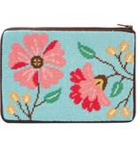 Alice Peterson Pink Flowers Cosmetic Purse - Kit