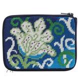 Alice Peterson White Tulip Coin Purse/Credit Card Case - Kit