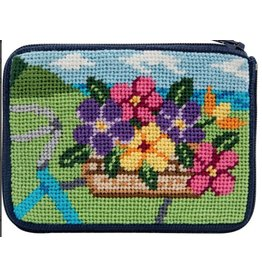 Alice Peterson Springtime Ride Coin Purse/Credit Card - Kit