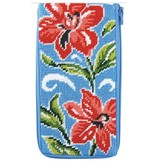 Alice Peterson Red Floral Eyeglass Case - Kit