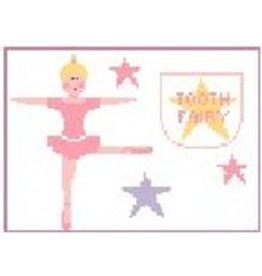 """Kathy Schenkel Ballerina Star Tooth Fairy<br /> 6"""" x 4"""""""
