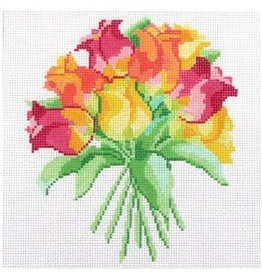 "Jean Smith Designs Petit Bouquet 12<br /> 8"" x 8"""