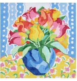 """Jean Smith Designs Matisse's Table #10<br /> 14"""" x 14"""""""