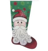 Alice Peterson Happy Santa Stocking