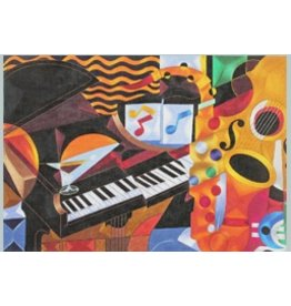"Julie Mar Rhythm II:  Piano Concert<br /> 18"" x 12.5"""