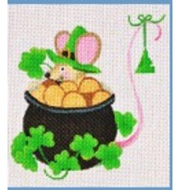 Danji St Patrick's Day Mouse - ornament