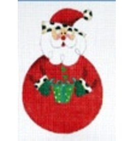 Danji Rounded Santa - ornament