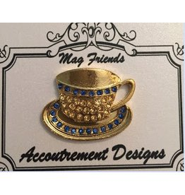 Accoutrement Designs Tea Cup & Saucer magnet
