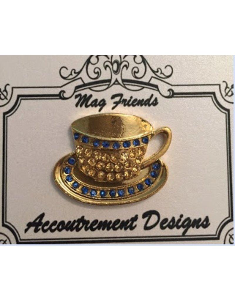 Accoutrement Designs Tea Cup & Saucer magnet