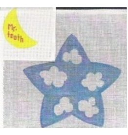 Stitch-It Star Tooth Fairy Pillow and/or Door Hanging