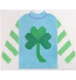 Stitch-It Shamrock Pull Over Sweater ornament
