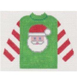 Stitch-It Santa Pull Over Sweater  ornament