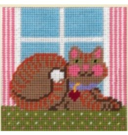 "Fleur de Paris Cat (kid's kit)<br /> 9"" x 9"""