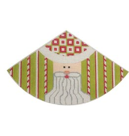 Little Shoppe Canvas Cone Santa Kit - 6<br /> Lime Green w/ Red &amp; White Stripes
