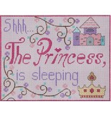 "Alice Peterson Princess Sleeping<br /> 7"" x 5.5"""
